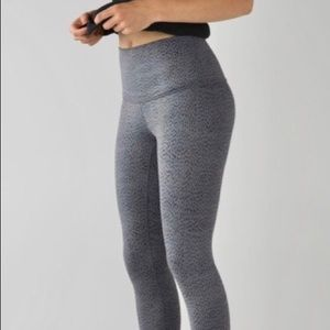 Lululemon WU roll down waist pants